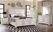 Calloway White King Bedroom Set