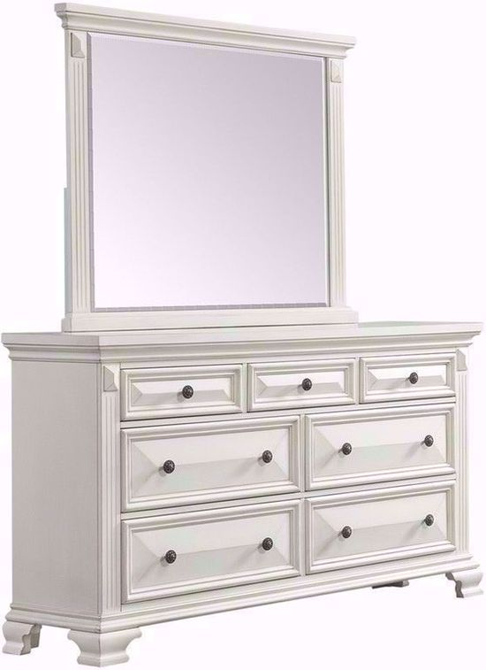 Picture of Calloway White Queen Bedroom Set