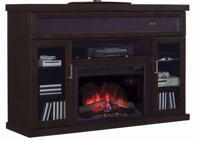 59 Inch Tenor Mantle with Fireplace Insert