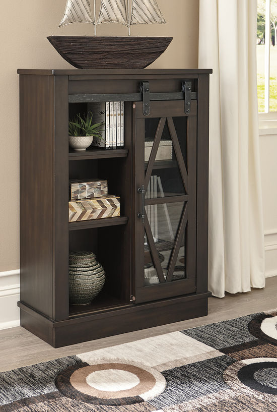 Picture of Bronfield Brown Accent Cabinet