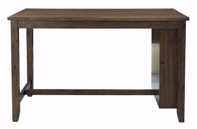 Chaleny Rectangular Storage Counter Table