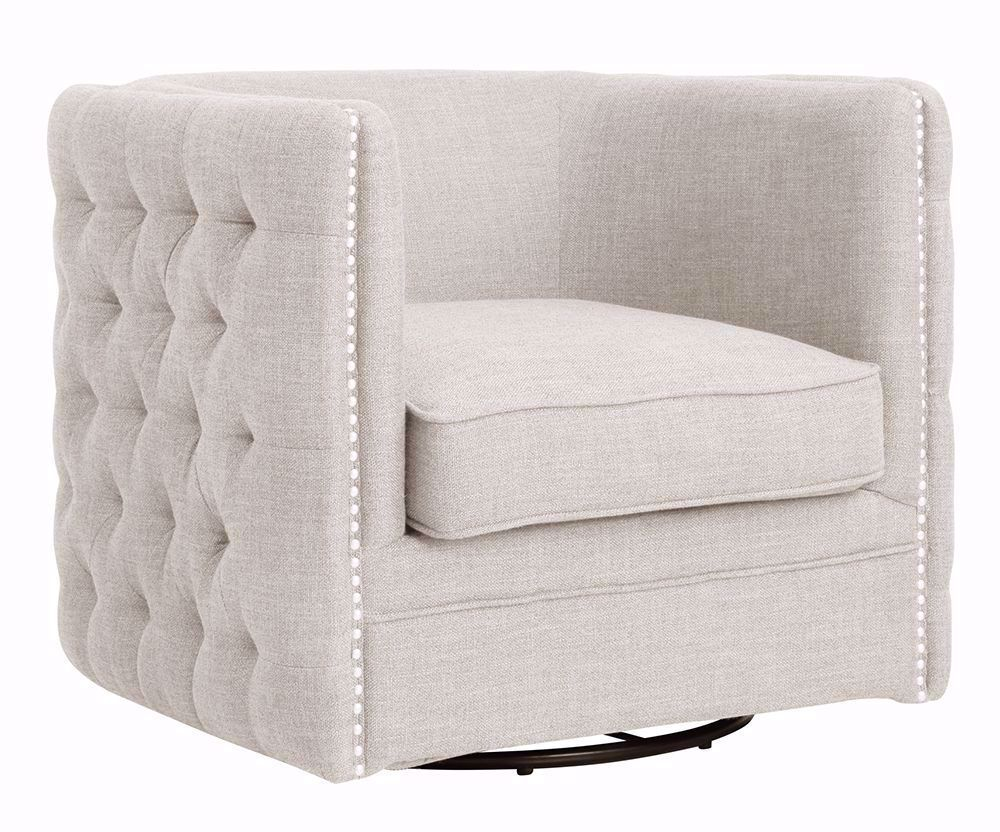 Picture of Wendau Linen Swivel Chair