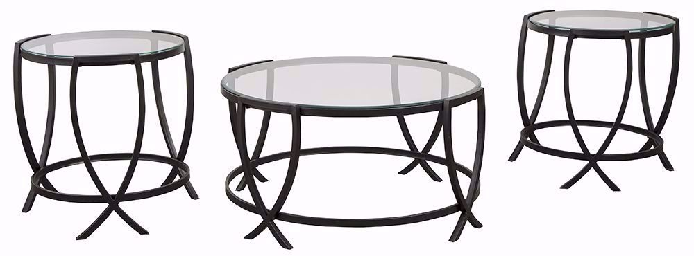 Picture of Tarrin Black Three Pack Tables