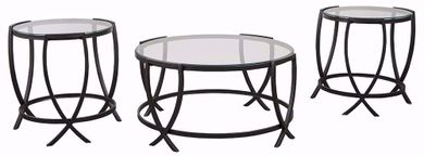 Tarrin Black Three Pack Tables
