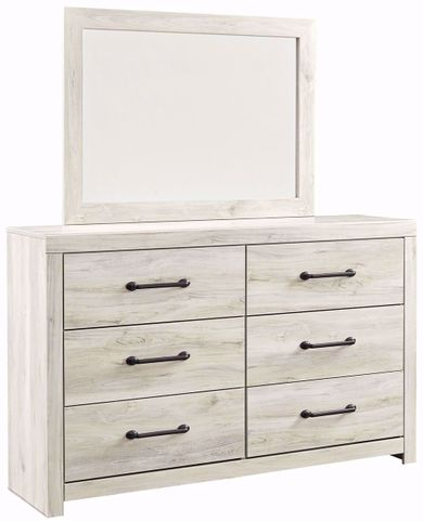 Cambeck Dresser and Mirror Set
