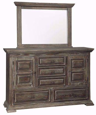 Wyndahl Dresser and Mirror