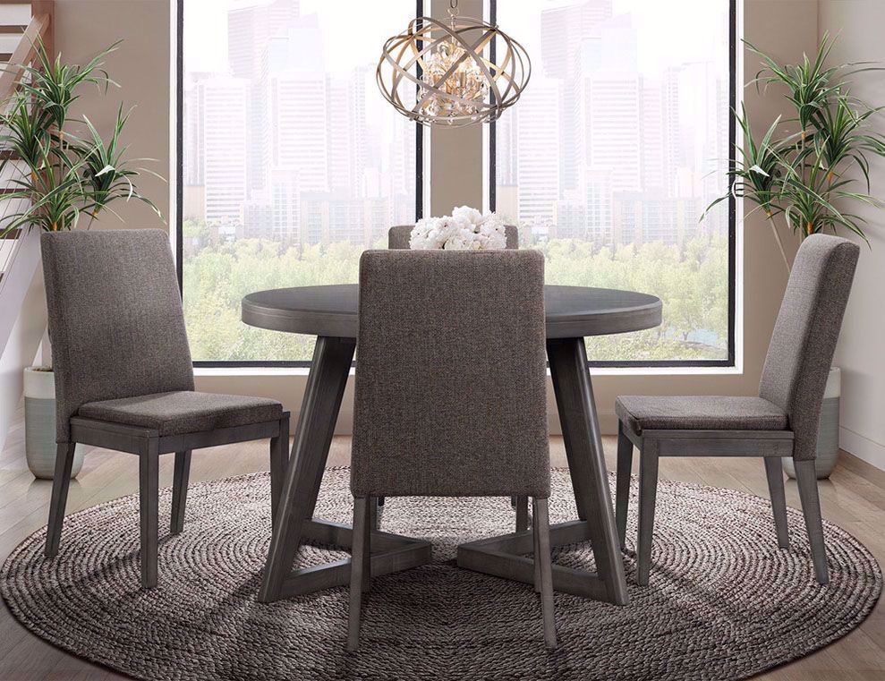 Picture of Cross Dining Table and Four Chairs