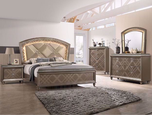 Picture of Cristal Queen Bedroom Set