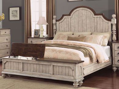 Plymouth Queen Storage Bed Set