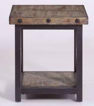 Carpenter Driftwood End Table