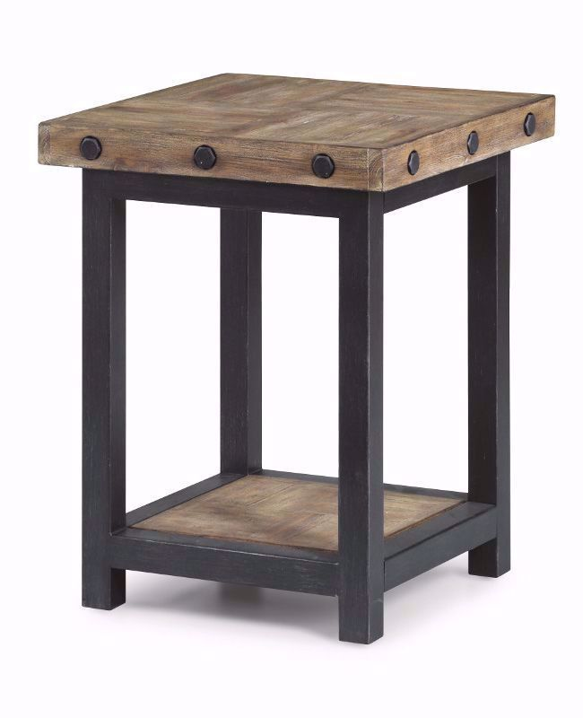 Picture of Carpenter Driftwood Chairside Table