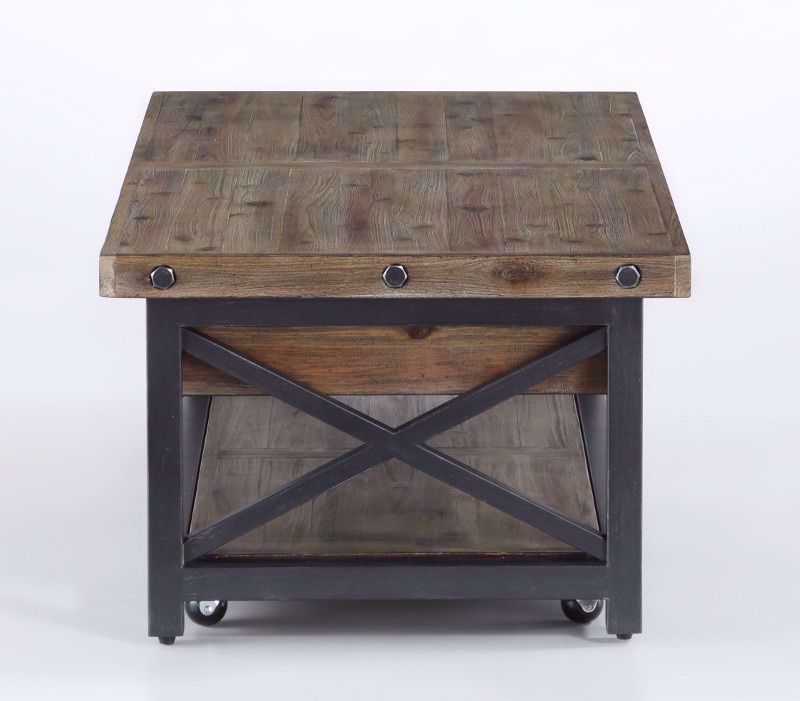 Picture of Carpenter Driftwood Lift Top Cocktail Table