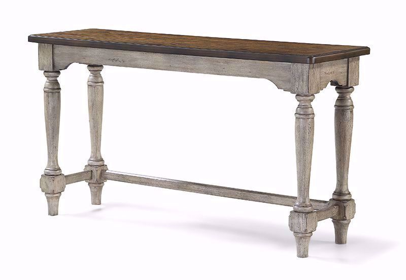 Picture of Plymouth Sofa Bar Table with Two Stools