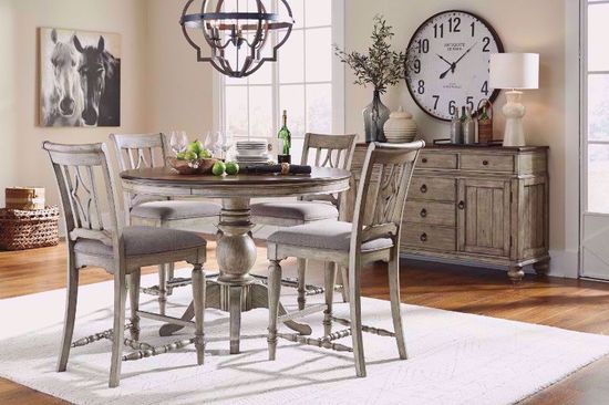 Picture of Plymouth Gray Counter Table