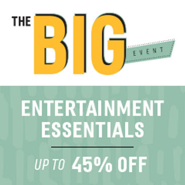 Entertainment Essentials | Up to 45% off