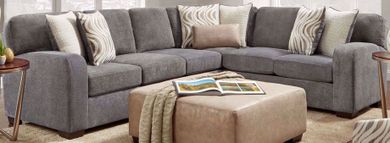 Chandler Steel Two Piece Sectional