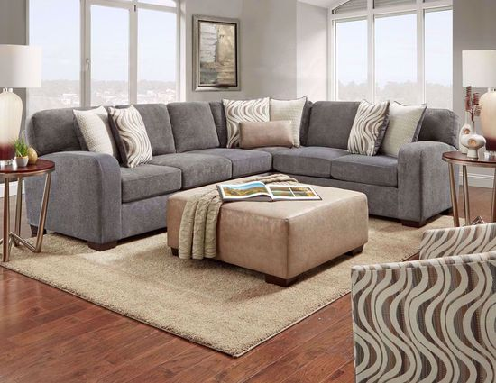 Picture of Chandler Steel Two Piece Sectional