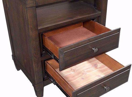 Picture of Easton Three Drawer Nightstand