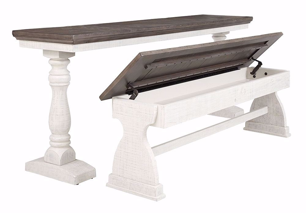 Picture of Braelow Table and Storage Bench Set
