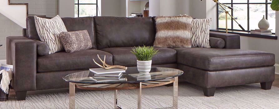 Picture of Huntington Grey Two Piece Sectional