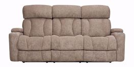 Marley Tan Power Reclining Sofa