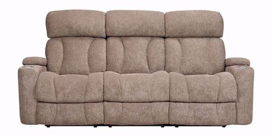Marley Tan Power Reclining Sofa