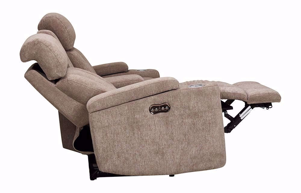 Picture of Marley Tan Console Power Reclining Loveseat