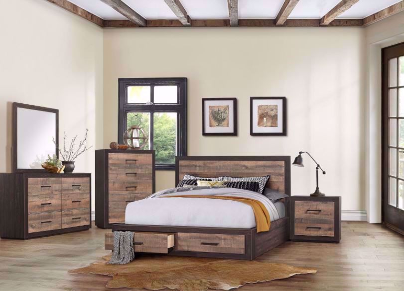 Brooke King Storage Bedroom Set The Furniture Mart