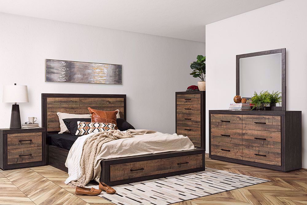Picture of Brooke Queen Storage Bed Set