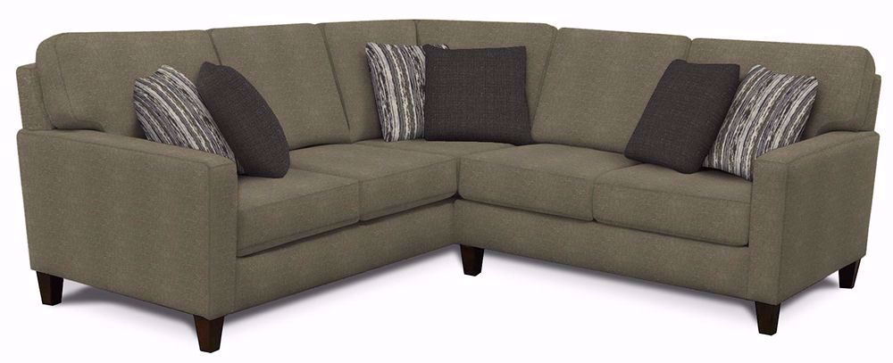 Picture of Rowe Haze-Hacblu Two Piece Sectional