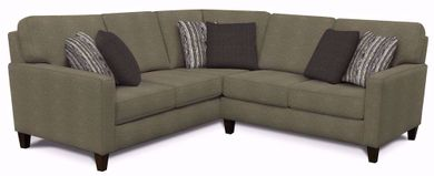 Rowe Haze-Hacblu Two Piece Sectional