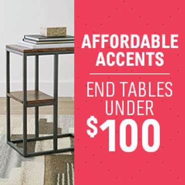 Affordable Accents | End Tables Under $100
