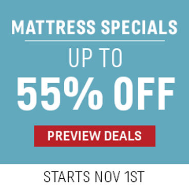 Mattress Specials Up to 55% off | Starts November 1