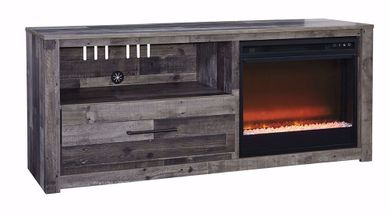 Derekson TV/Fireplace Set