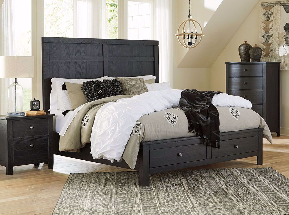 Picture of Noorbrook Queen Storage Bed
