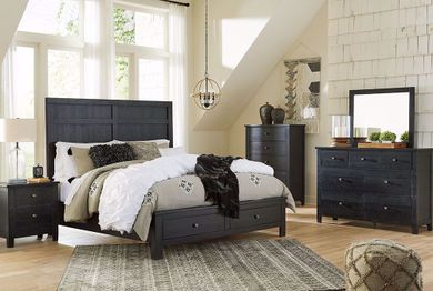 Noorbrook King Storage Bedroom Set