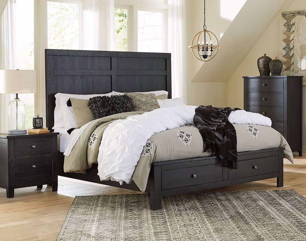 Picture of Noorbrook King Storage Bed