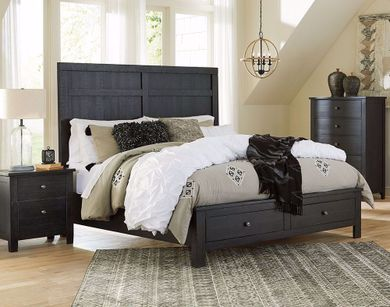 Noorbrook King Storage Bed
