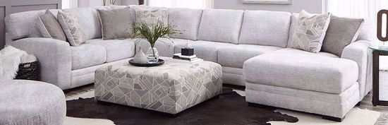 Picture of Zaftig Parchment Three Piece Sectional