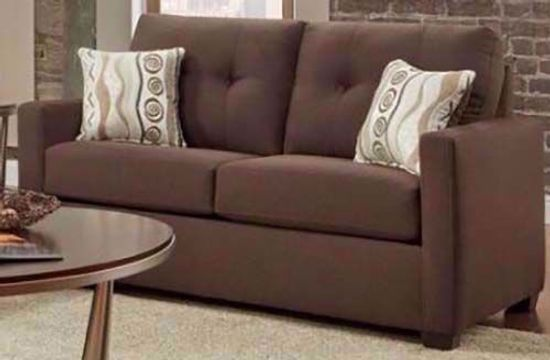 Picture of Mitchell Chocolate Loveseat