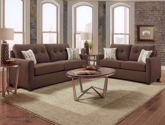 Picture of Mitchell Chocolate Sofa