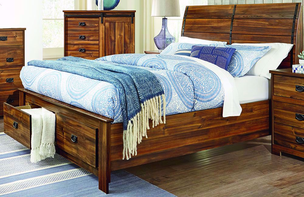 Picture of Ontario Queen Storage Bed Set