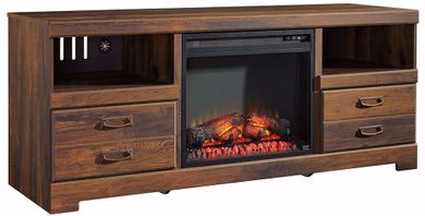 Quinden TV/Fireplace Set