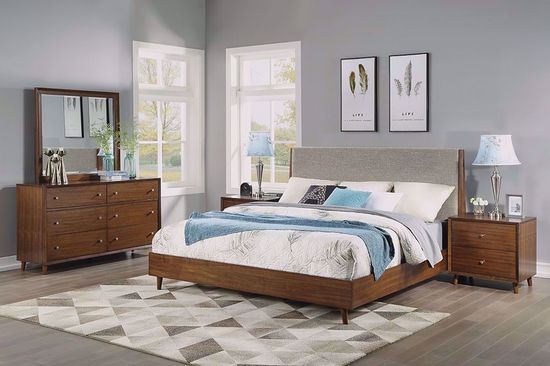 Picture of Ludwig King Upholstered Bedroom Set