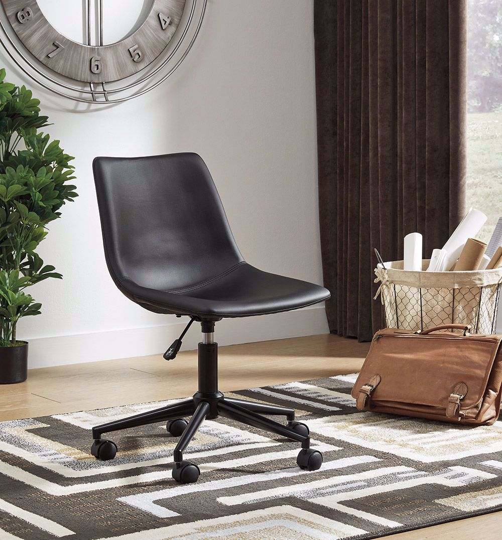 Picture of Black Swivel Desk Chair