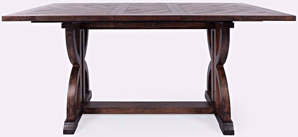 Picture of Fairview Oak Extension Counter Table