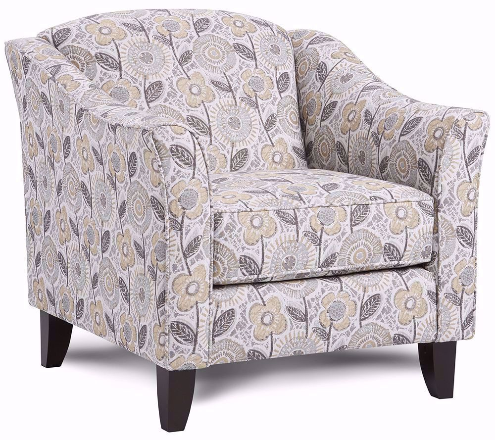 Picture of Dayflower Haze Accent Chair