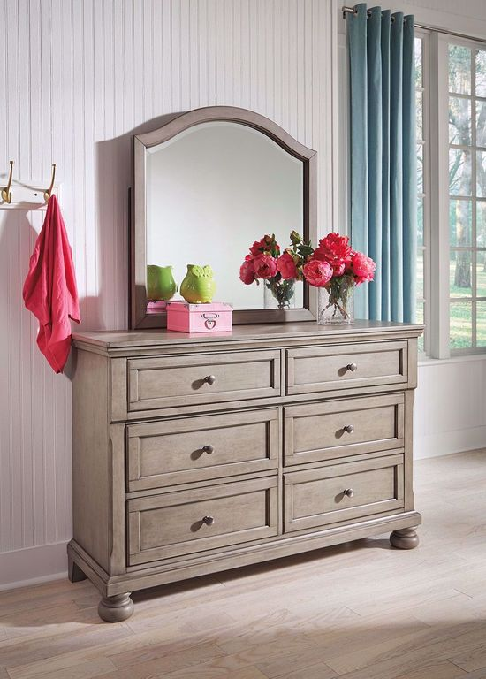 Picture of Lettner Youth Dresser and Mirror Set