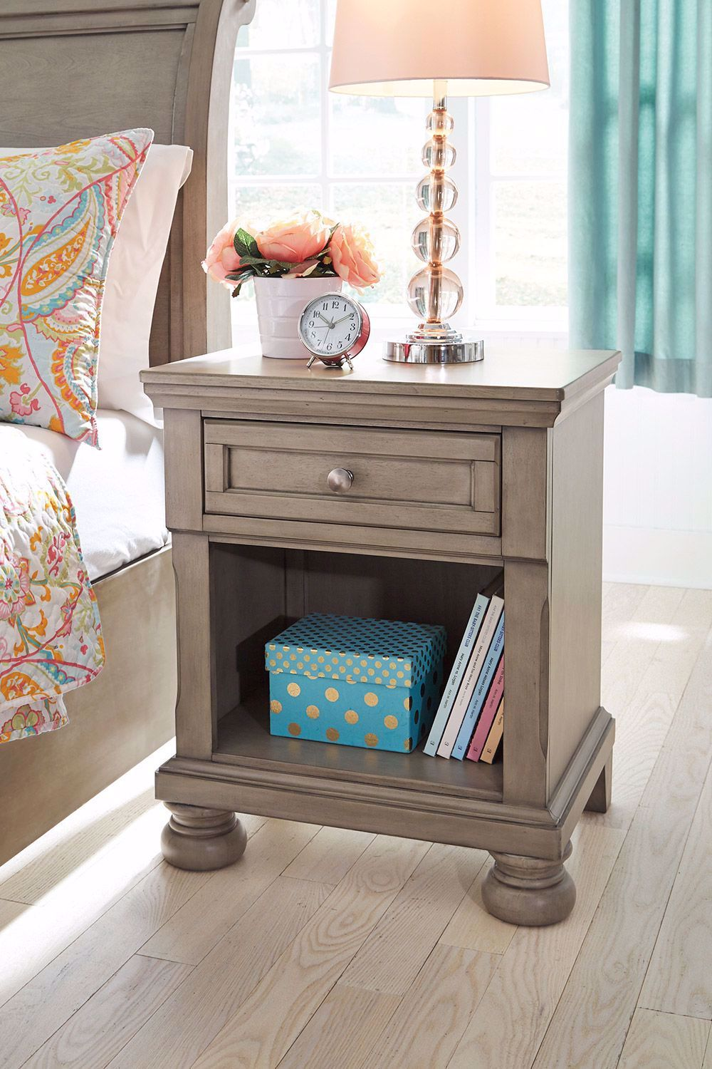 Picture of Lettner One Drawer Nightstand