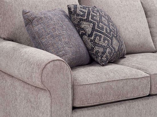 Picture of Griffin Pewter Bedmid Brasto Three Piece Sectional